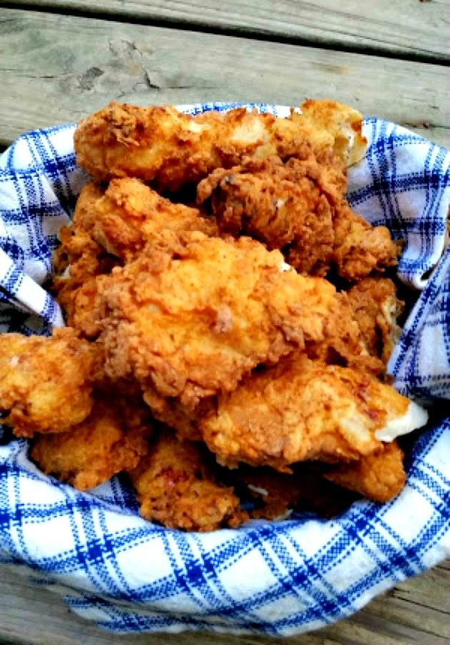 Fried Chicken Strips Recipe Without Buttermilk  crispy fried chicken strips without buttermilk