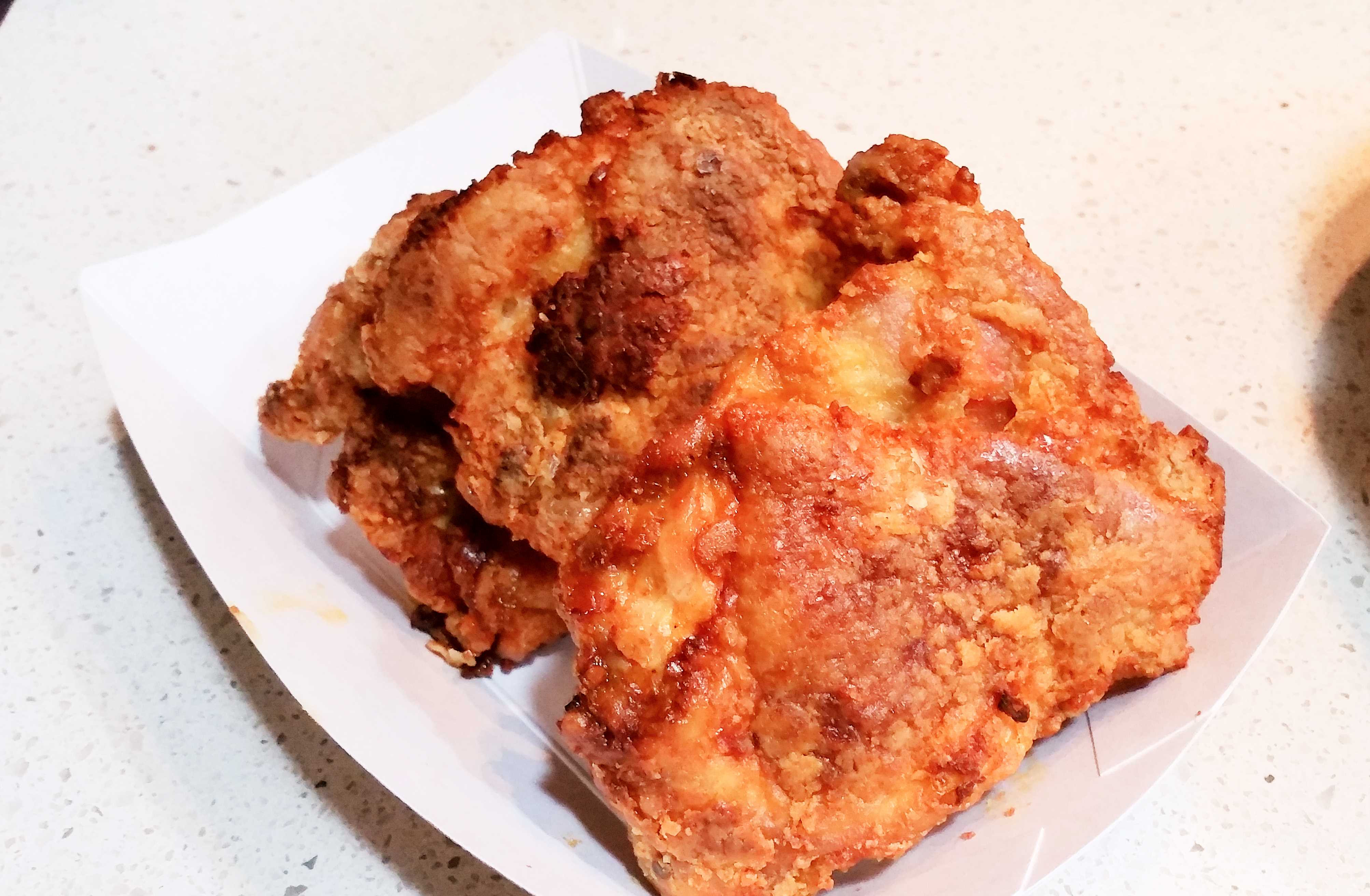 Fried Chicken Thighs  the best oven fried chicken recipe ever Sweet Savant