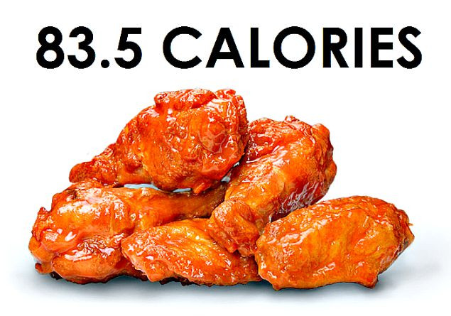 Fried Chicken Wing Calories  5 bbq chicken wings calories