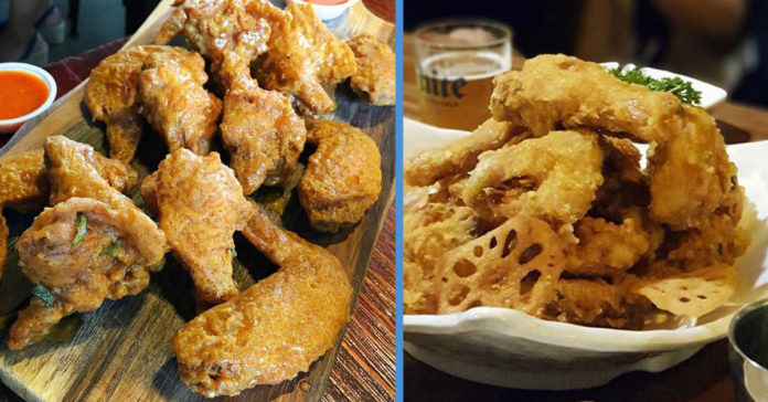 Fried Chicken Wing Calories  8 Makan Places in S pore with Fried Chicken Wings That Are