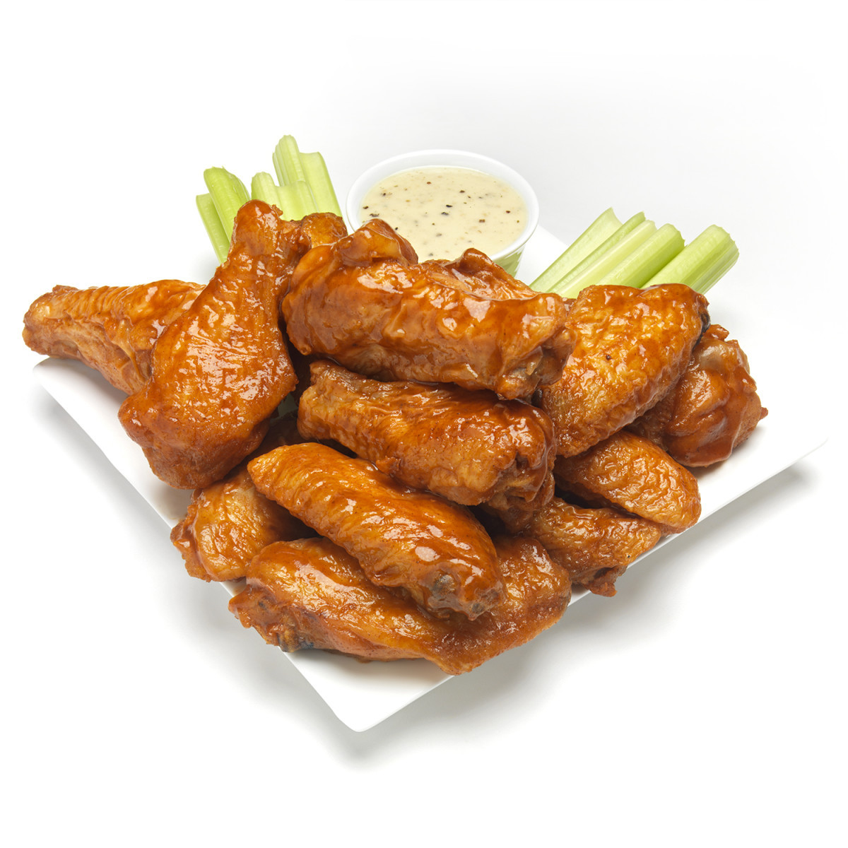Fried Chicken Wing Calories  Classic Buffalo Wings Rachael Ray Every Day
