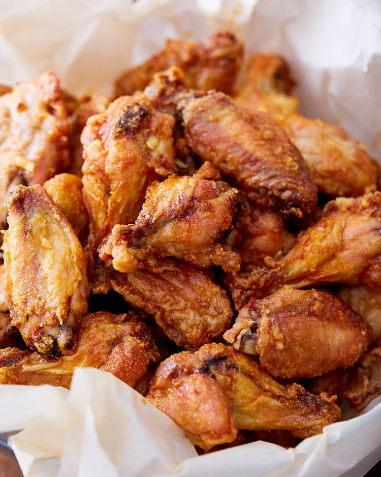 Fried Chicken Wing Calories  Extra Crispy Baked Chicken Wings i FOOD Blogger