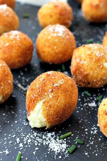 Fried Mashed Potatoes  Fried Mashed Potatoes Mantitlement