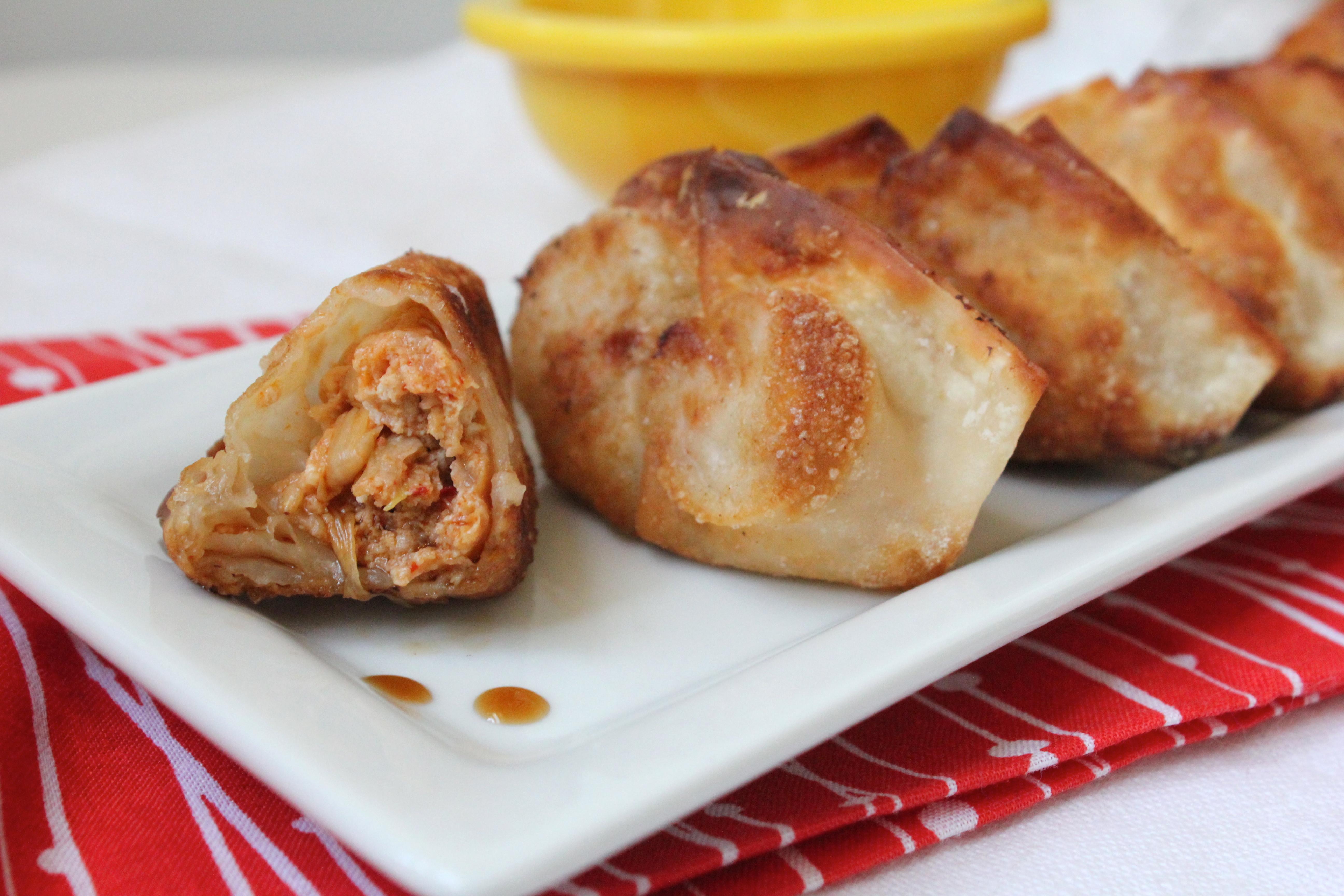 Fried Pork Dumplings  Kimchi and pork fried dumplings