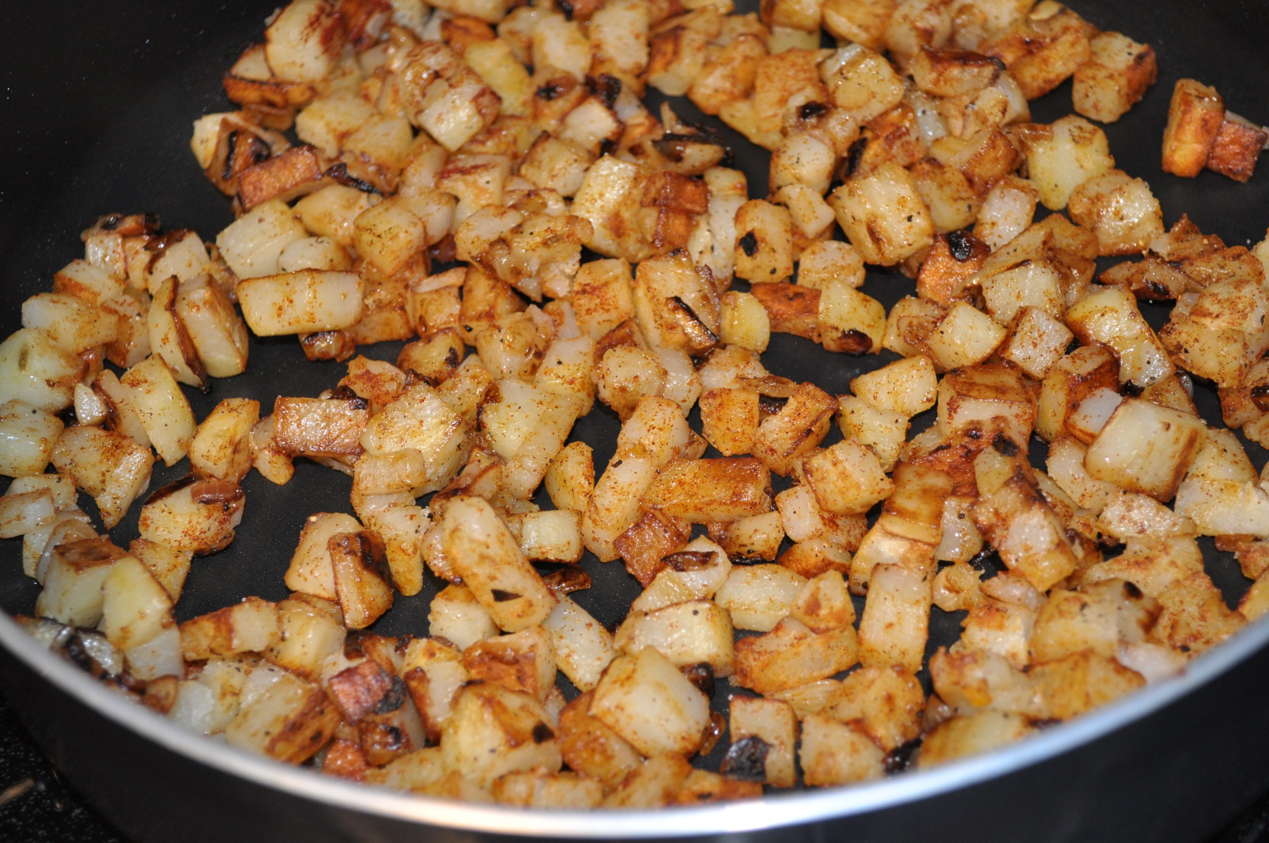 Fried Potato Recipes  Home Fried Potatoes Recipe