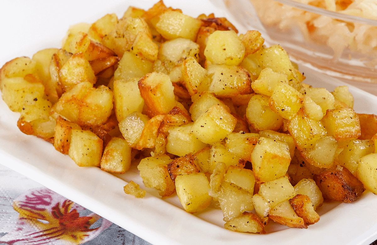 Fried Potato Recipes  Light Fried Potatoes Recipe