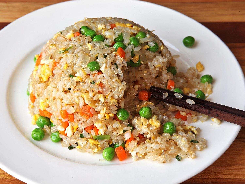 Fried Rice Recipe Easy  Easy Fried Rice Recipe