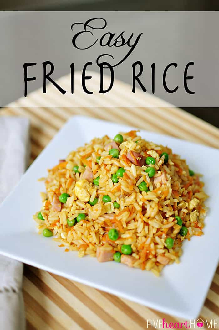 Fried Rice Recipe Easy  Easy Fried Rice