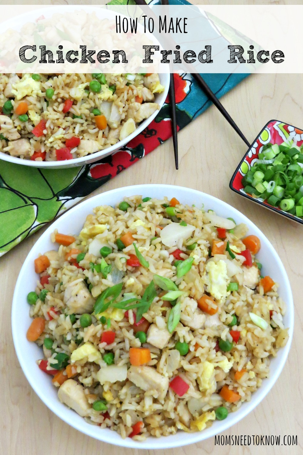 Fried Rice Recipe Easy  Easy Fried Rice Recipe Chicken Fried Rice