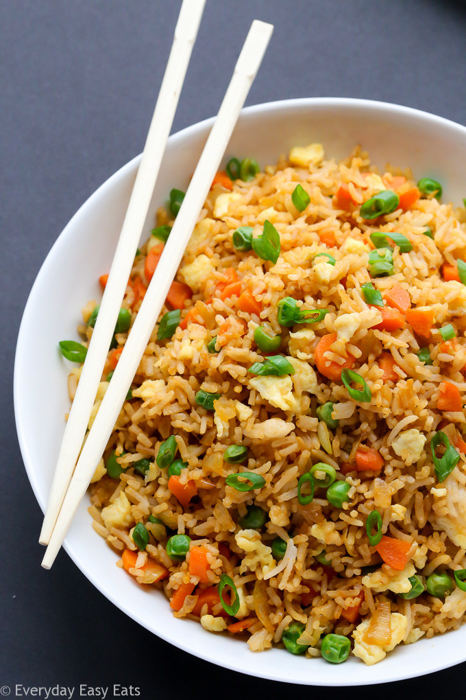 Fried Rice Recipe Easy  fried rice chinese