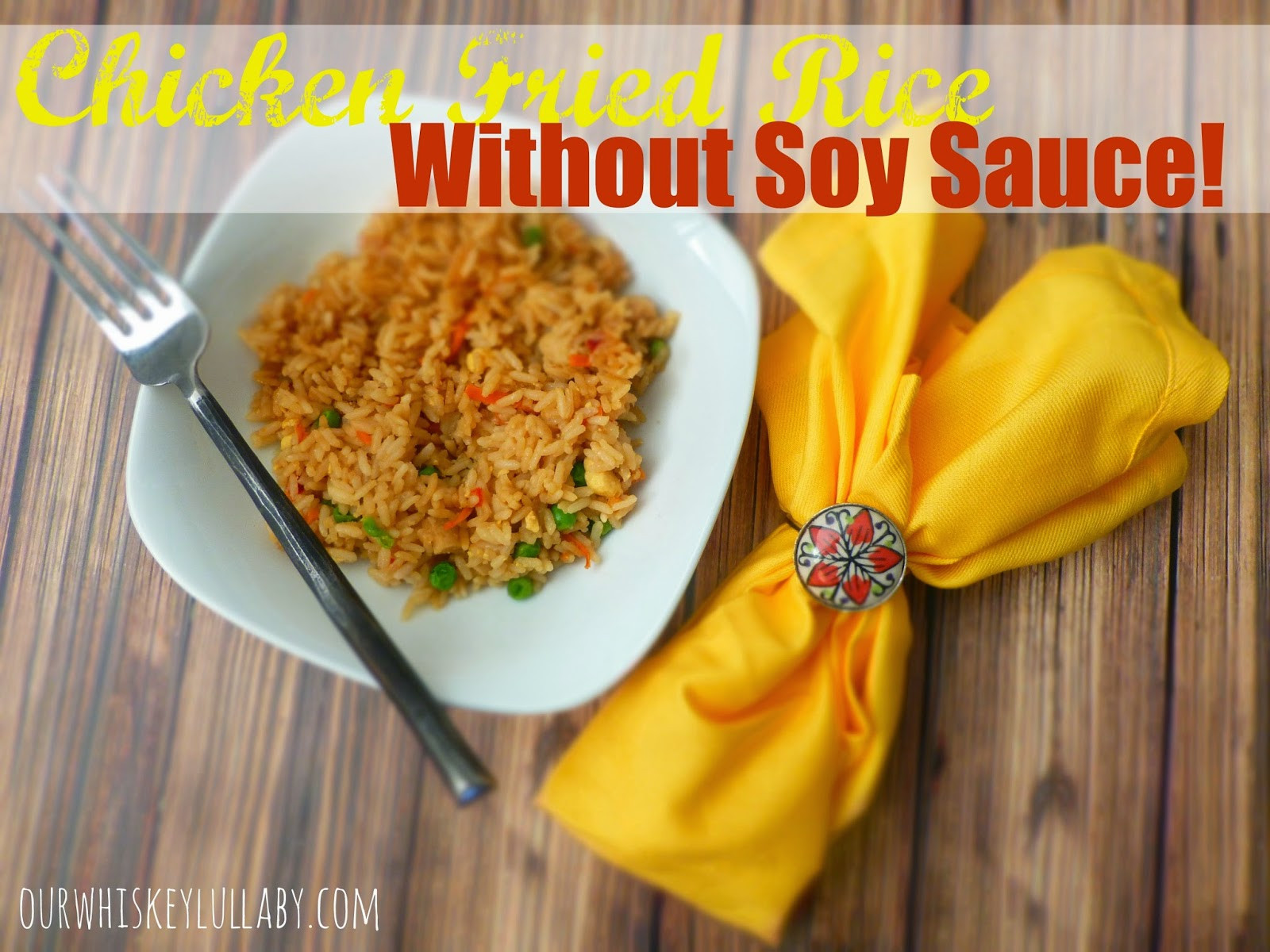 Fried Rice Without Soy Sauce  Chicken Fried Rice Without Soy Sauce SuccessRice ad