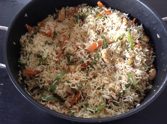 Fried Rice Without Soy Sauce  Cooking With Swapna Indo Chinese Chicken Fried rice