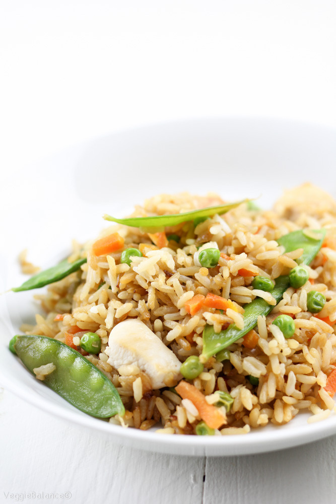 Fried Rice Without Soy Sauce  Chicken Fried Rice Gluten Free Dairy Free VeggieBalance