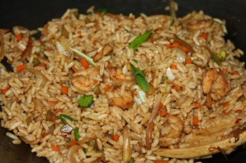 Fried Rice Without Soy Sauce  Shrimp Fried Rice Recipe Without Soy Sauce