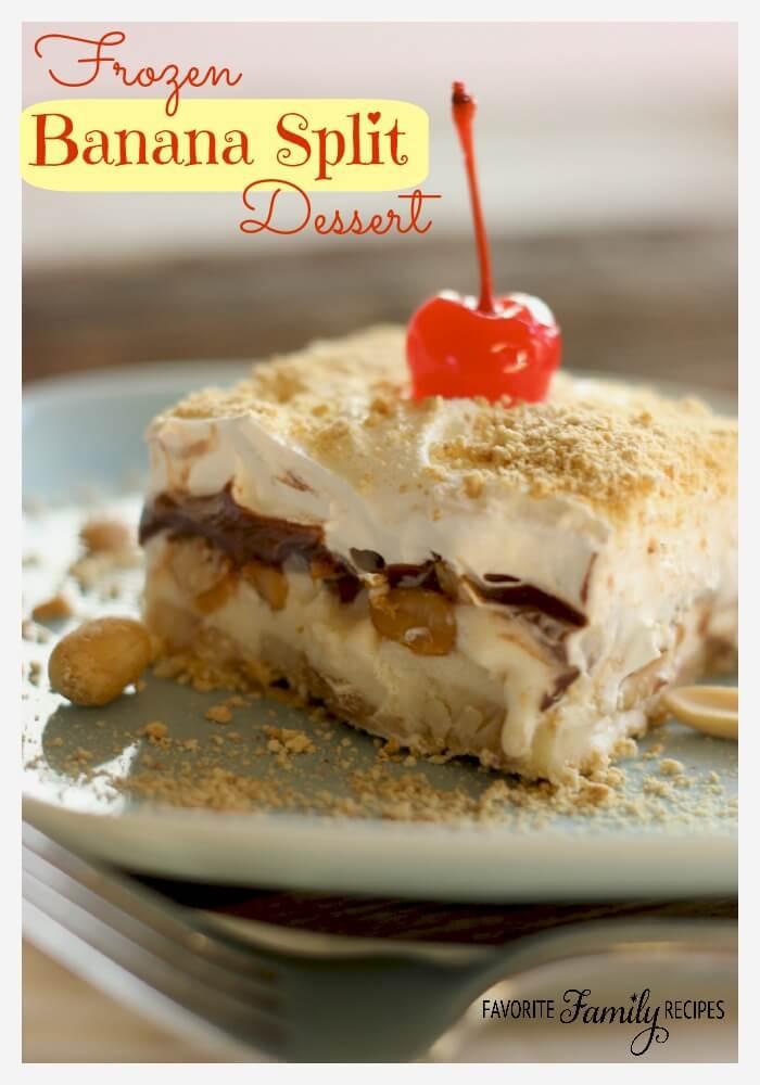 Frozen Banana Dessert  Over 60 Frozen Dessert Recipes Page 2 of 2 Julie s