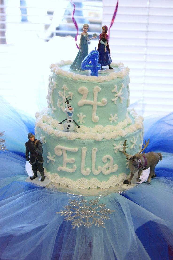 Frozen Birthday Cake  Frozen Birthday Cake Kate Elizabeth