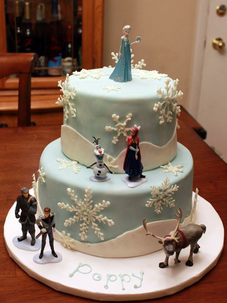 Frozen Birthday Cake  83 best images about Frozen themed on Pinterest