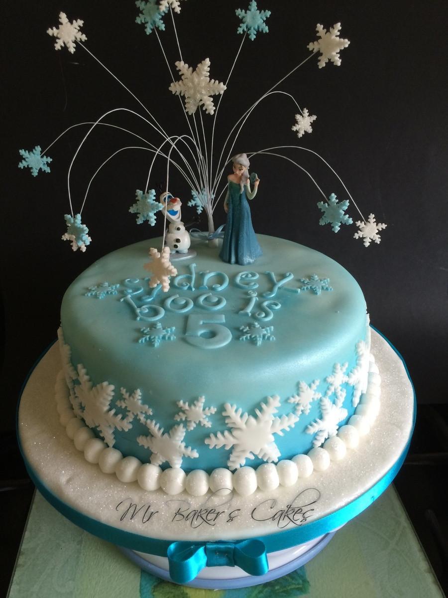 Frozen Birthday Cake  Frozen Cake 2 CakeCentral