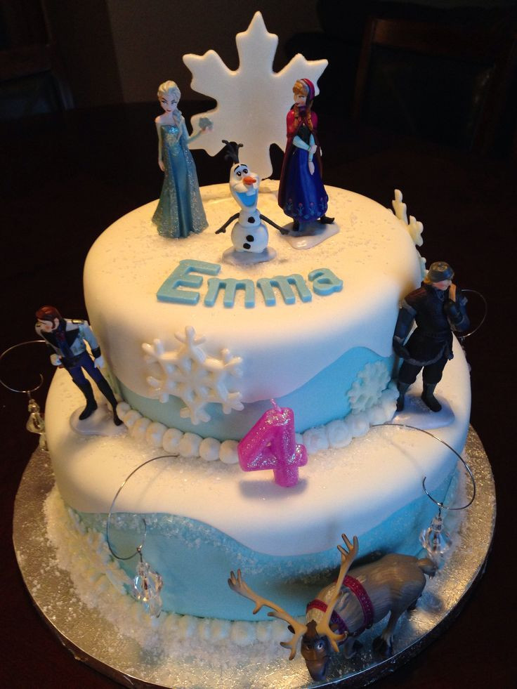Frozen Birthday Cake  17 Best images about Frozen cakes on Pinterest