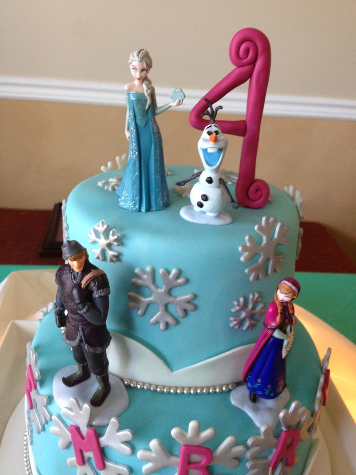 Frozen Birthday Cake  Sugar Love Cake Design Frozen Birthday Cake
