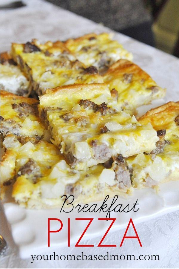 Frozen Breakfast Pizza  17 Best images about Breakfast Casseroles on Pinterest