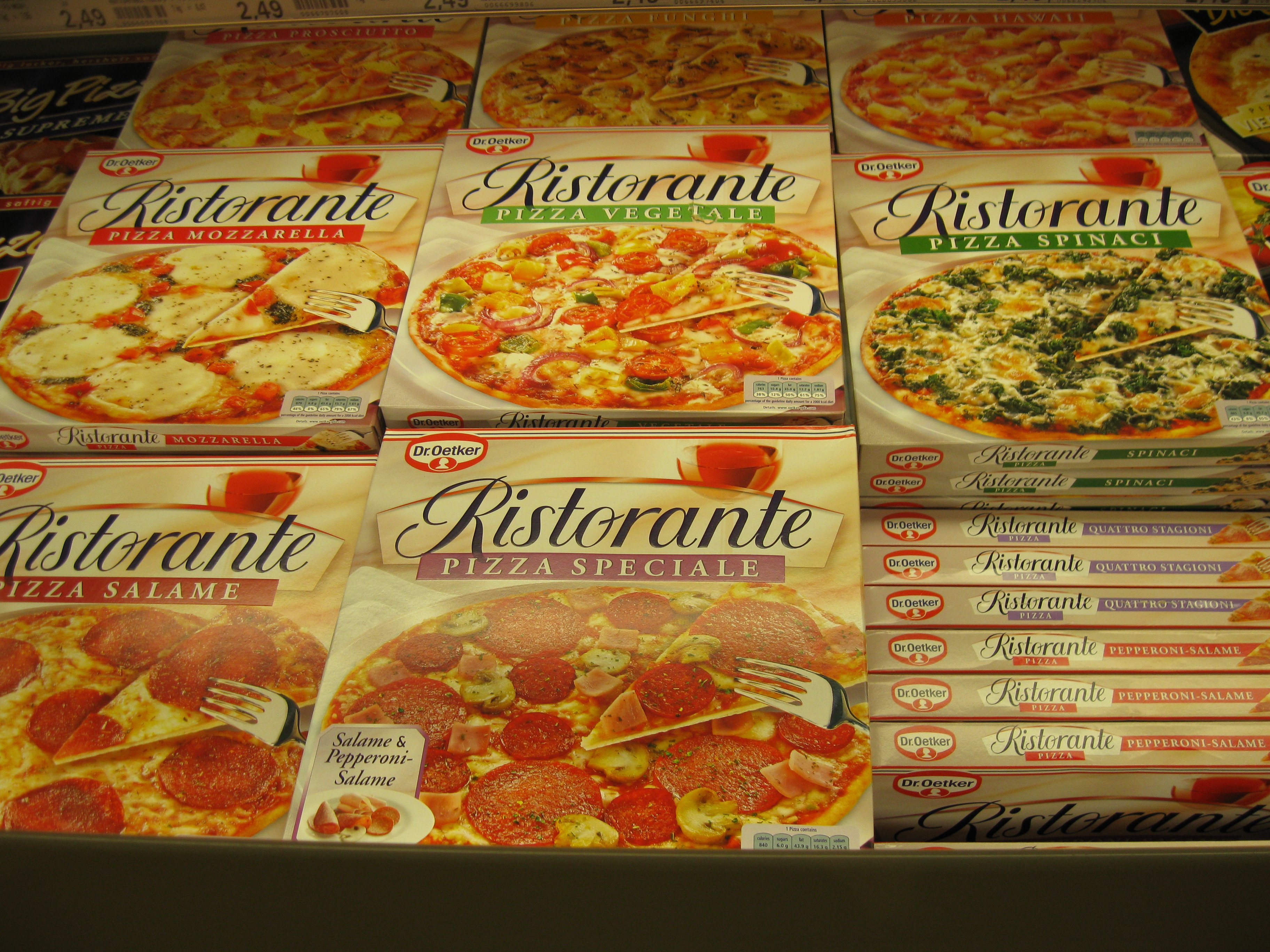 Frozen Breakfast Pizza  Food and Drink around Germany