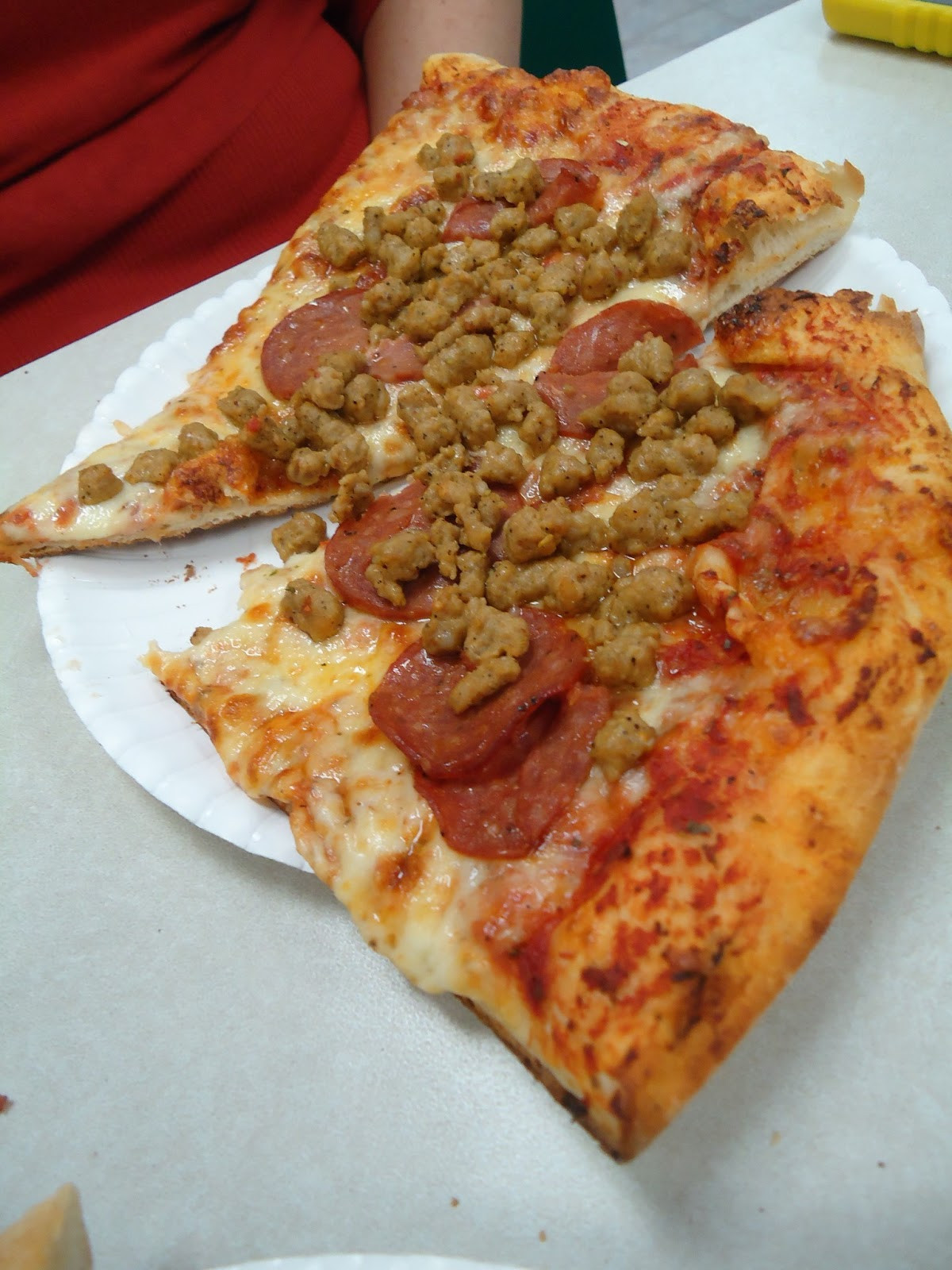 Frozen Breakfast Pizza  Top This Reaching Altitudes of Meh at Flying Pizza