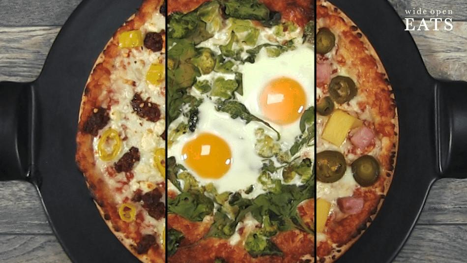 Frozen Breakfast Pizza  3 Ways to Hack a Frozen Pizza When You Just Don t Feel