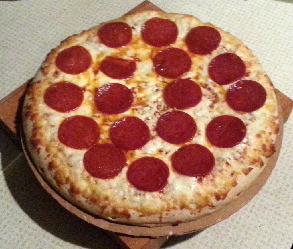 Frozen Breakfast Pizza  Good & Delish Frozen Pizza Review