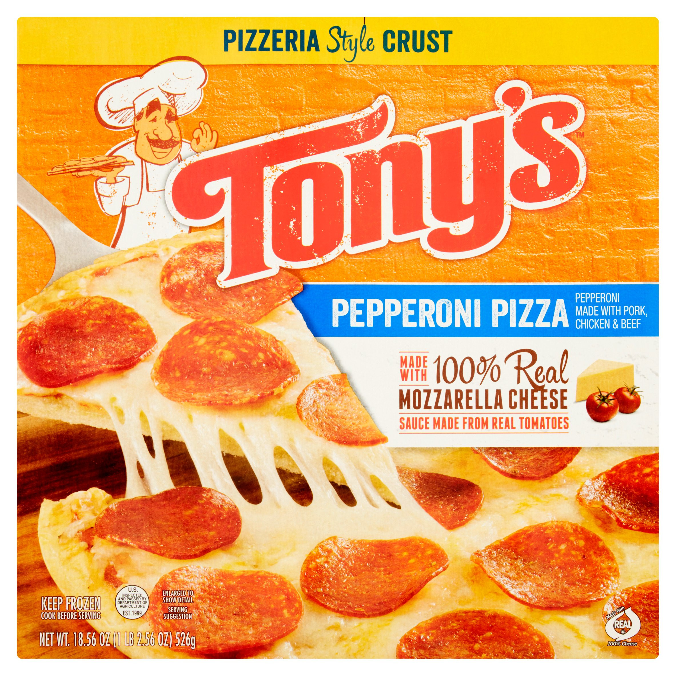 Frozen Breakfast Pizza  Tony S Frozen Pizza Nutrition Facts Nutrition Ftempo
