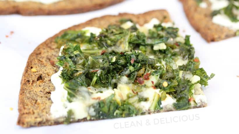 Frozen Cauliflower Pizza Crust  White Kale Pizza Frozen Cauliflower Crust Clean