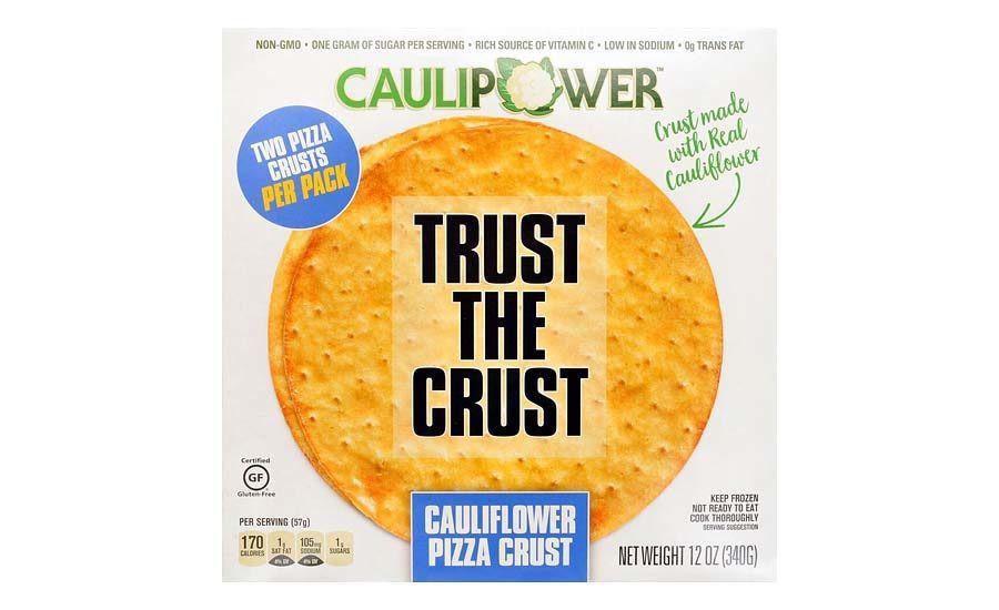 Frozen Cauliflower Pizza Crust  Cauliflower crust pizza 2017 06 23