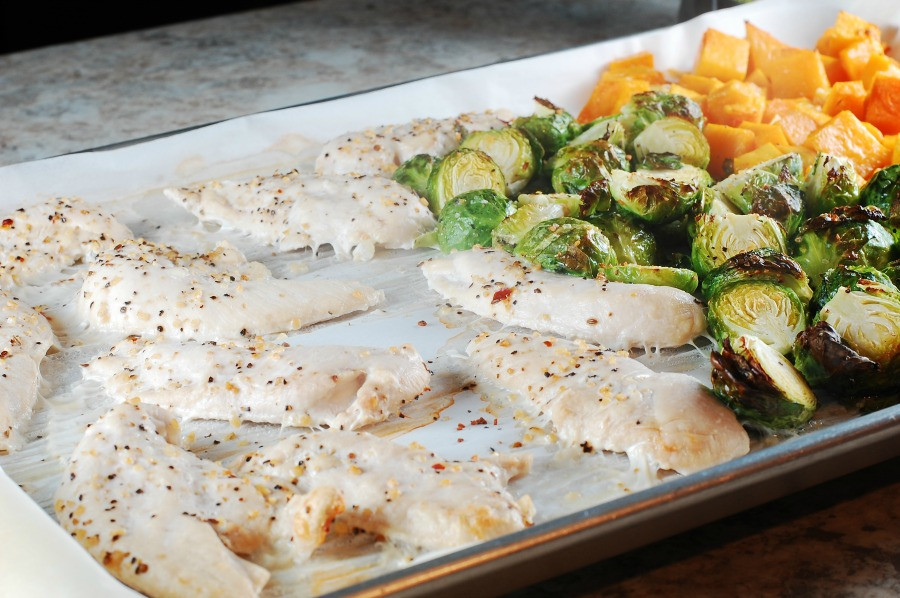 Frozen Chicken Recipes For Dinner  Easy Sheet Pan Dinner Using Frozen Chicken Tenders Eat