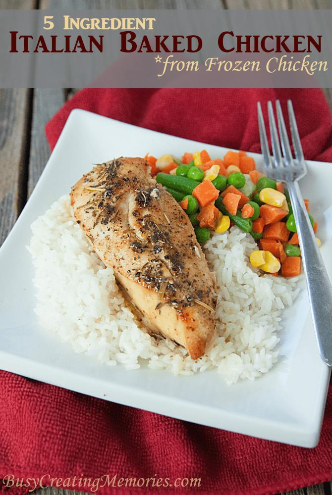 Frozen Chicken Recipes For Dinner  Easy frozen chicken recipes Food easy recipes