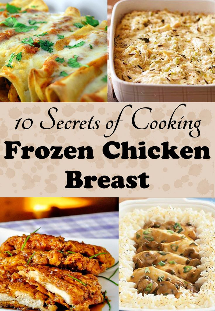 Frozen Chicken Recipes For Dinner  How to Cook Frozen Chicken Breasts in a Crock Pot