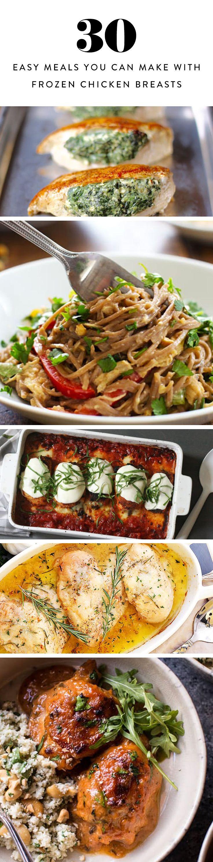 Frozen Chicken Recipes For Dinner  Best 25 Frozen chicken meals ideas on Pinterest