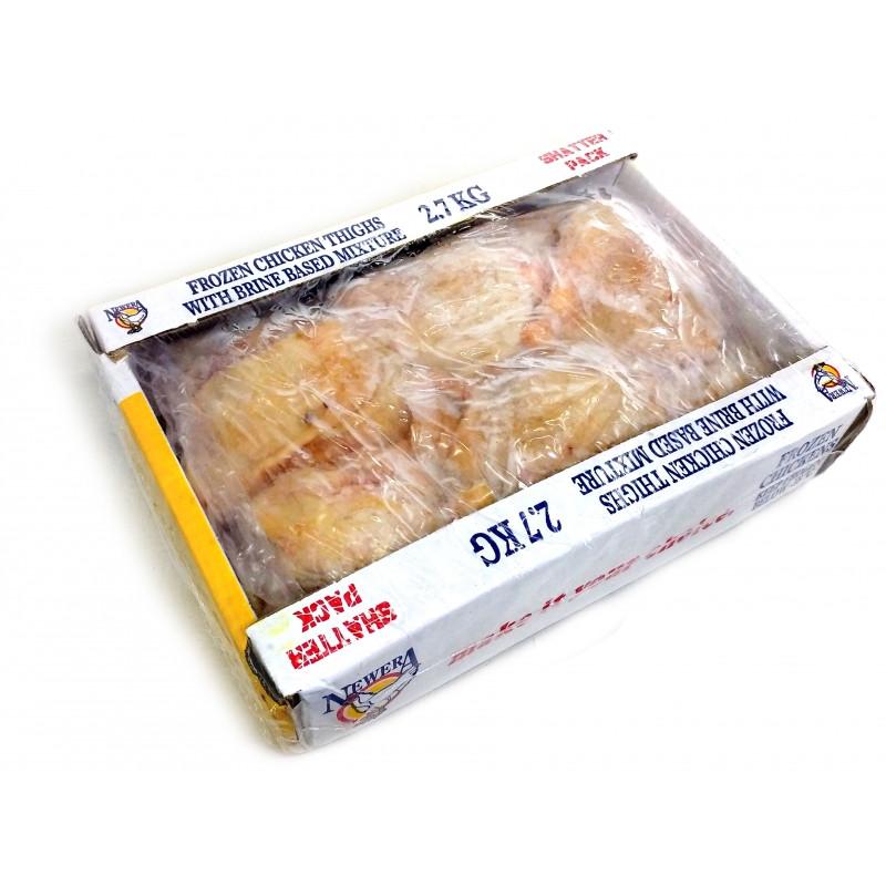 Frozen Chicken Thighs  New Era Frozen Chicken Thighs 2 7kg Evergreens The