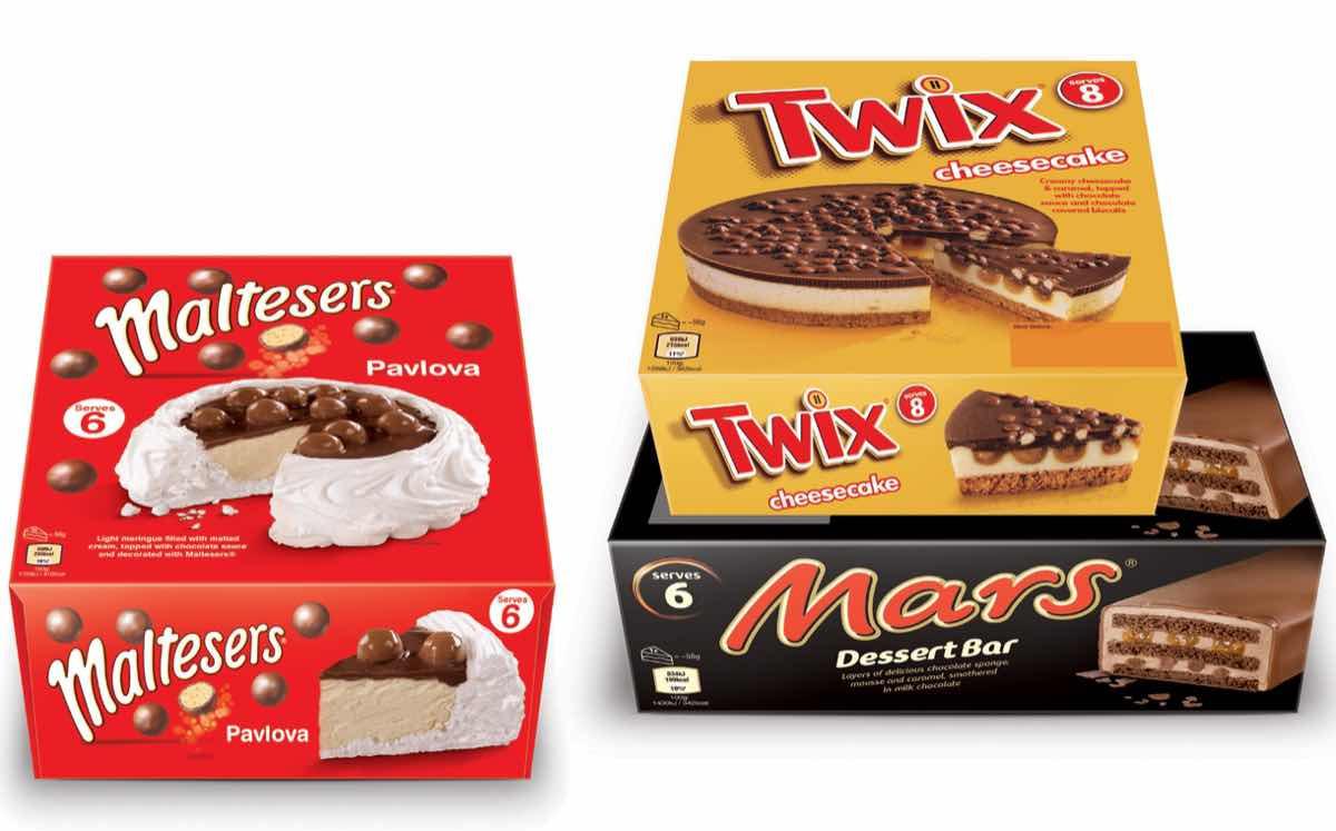 Frozen Dessert Brand  Mars adds three frozen desserts to well loved chocolate