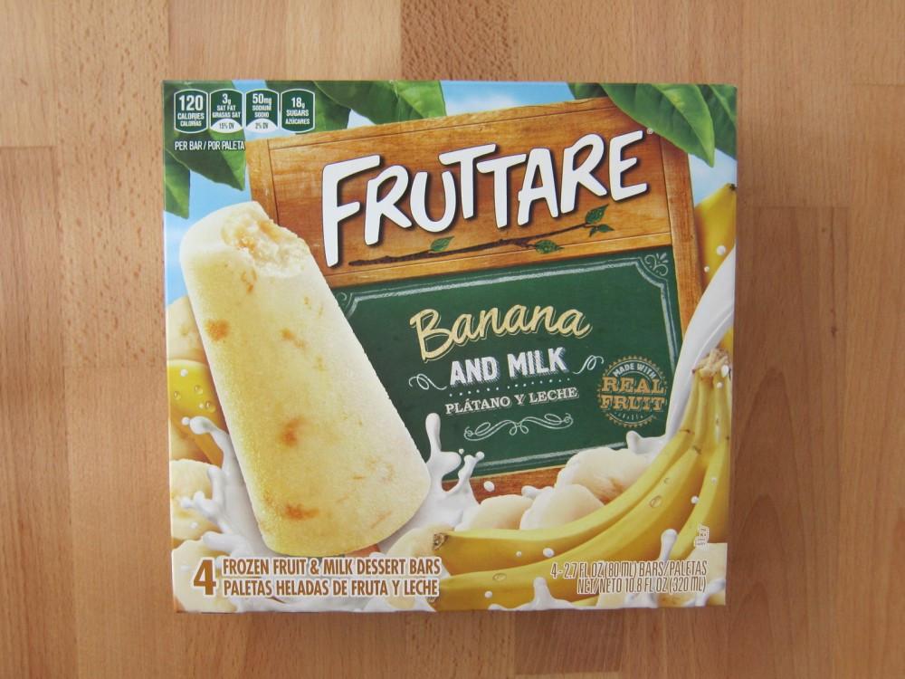 Frozen Dessert Brand  Frozen Friday Fruttare Banana and Milk Dessert Bars