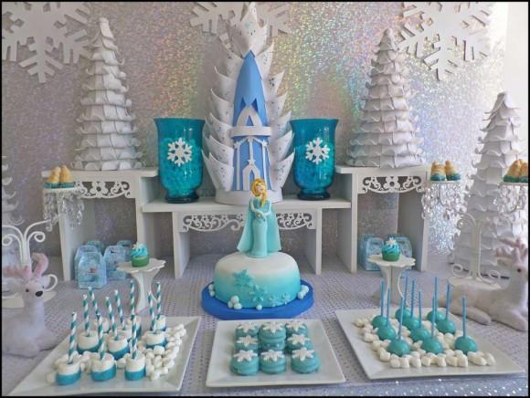 Frozen Dessert Party  Frozen Dessert Table Ideas