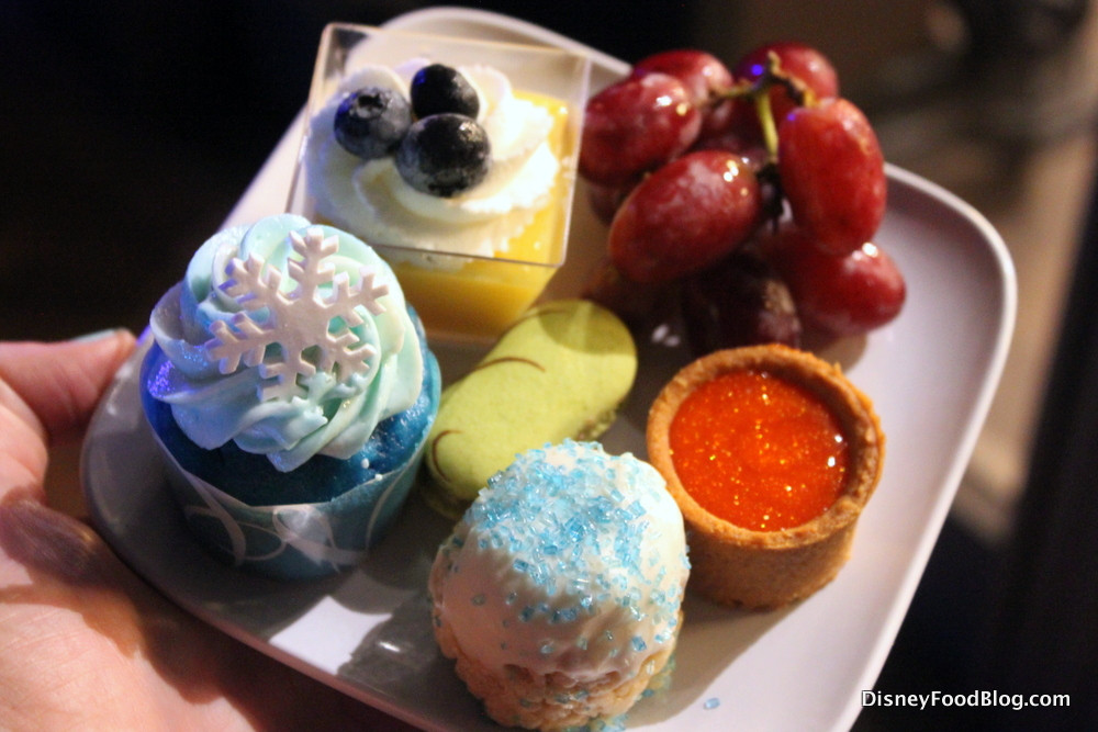 Frozen Dessert Party  Review Frozen Ever After Dessert Party at Epcot