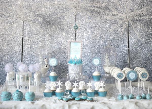 Frozen Dessert Party  BRRRR Frozen Party Ideas B Lovely Events
