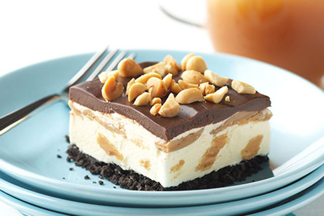 Frozen Dessert Recipies  OREO Frozen Peanut Butter Dessert Kraft Recipes