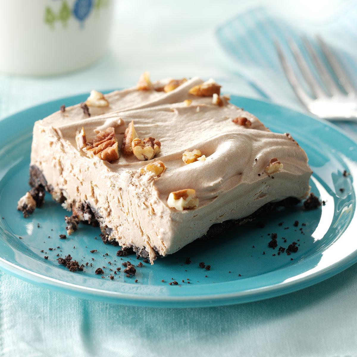 Frozen Dessert Recipies  Creamy Mocha Frozen Dessert Recipe