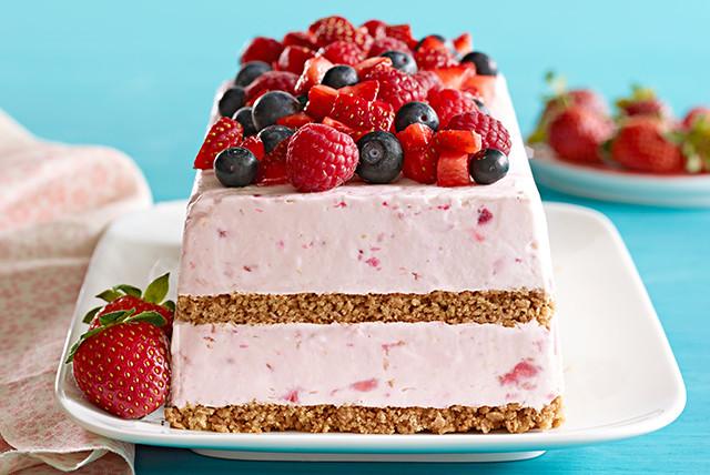 Frozen Dessert Recipies  Berry Frozen Dessert Recipe Kraft Recipes