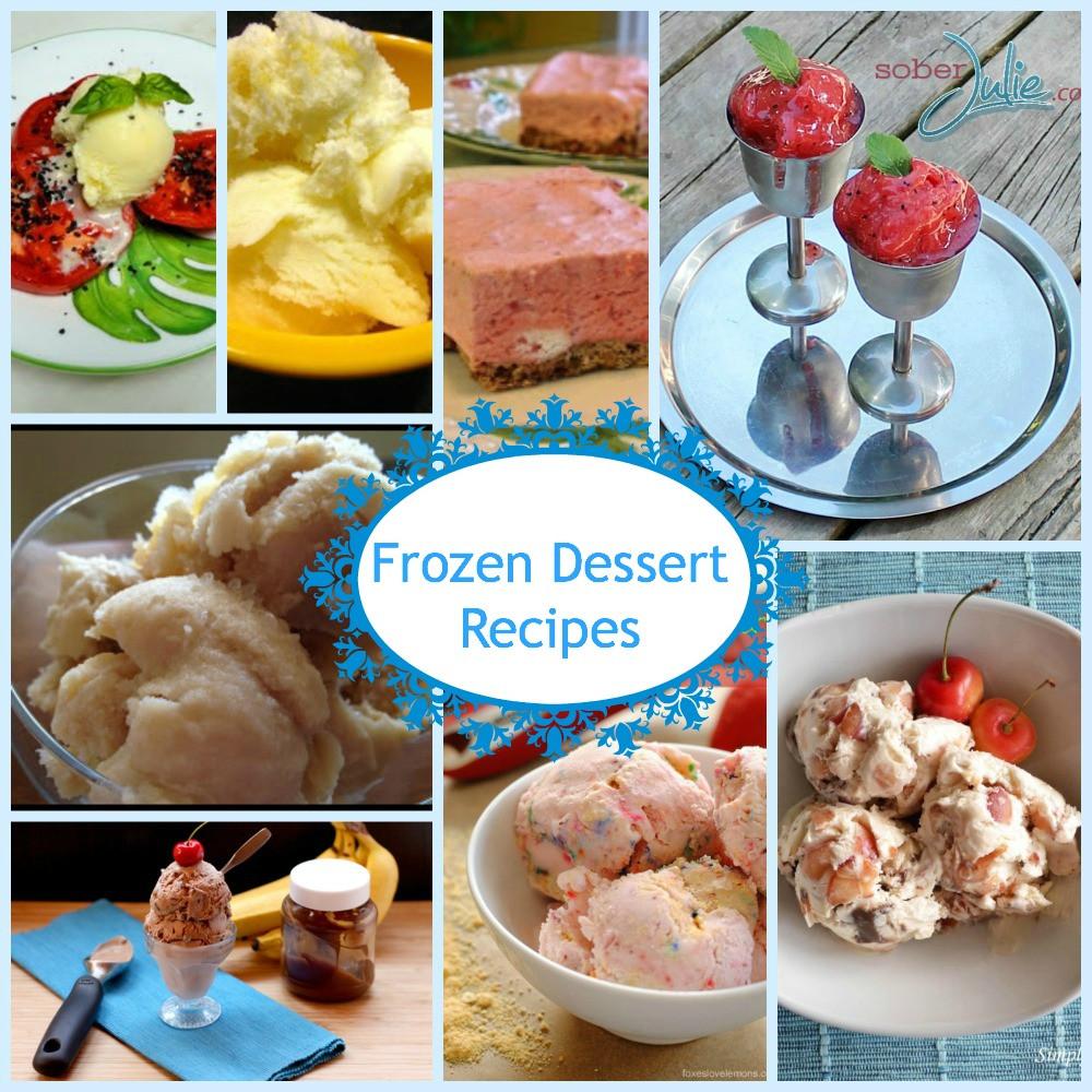 Frozen Dessert Recipies  Frozen Dessert Recipes Just a Few I Want To Make