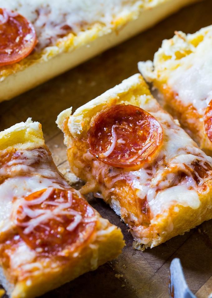 Frozen Garlic Bread  Garlic Bread Pizza Spicy Southern Kitchen
