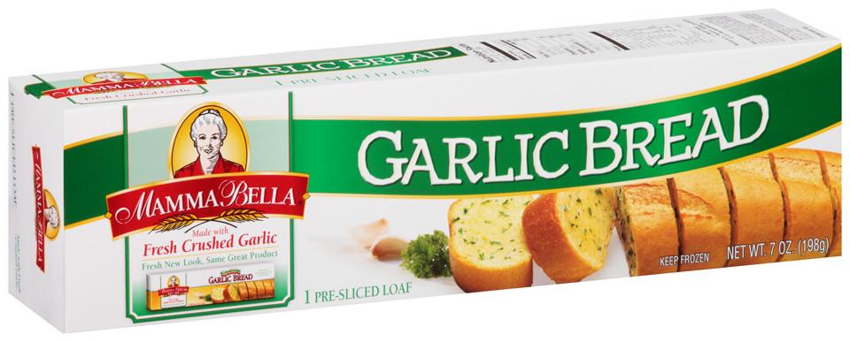 Frozen Garlic Bread  EWG s Food Scores