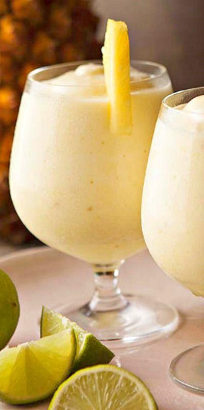 Frozen Rum Drinks  Frozen pineapple daiquiri Recipe