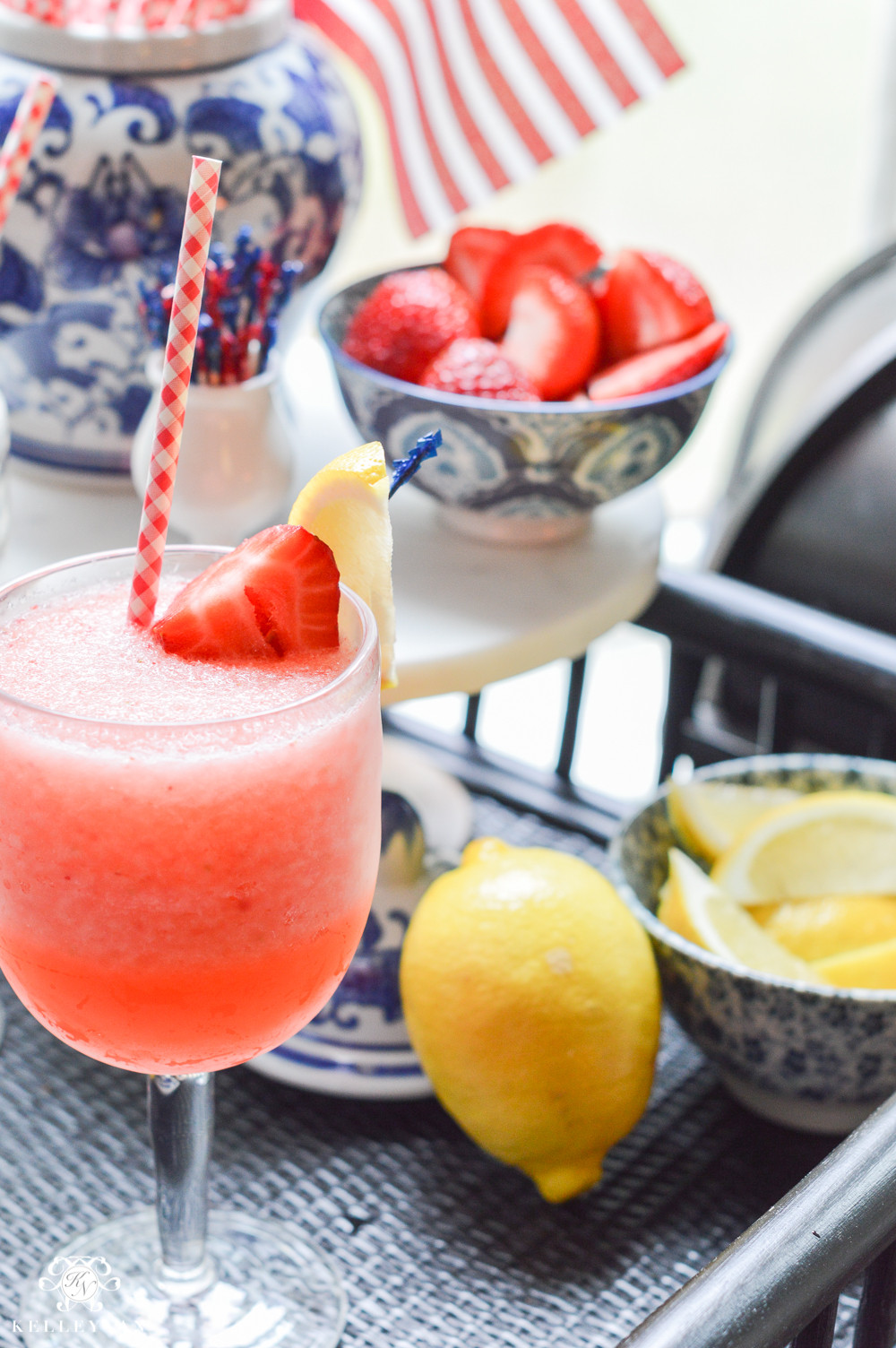 Frozen Rum Drinks  Favorite Summer Frozen Drink Strawberry Lemon Limeade Rum